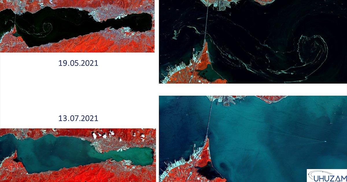 Marmara Denizi nin uzaydan çekilen görüntüleri #8