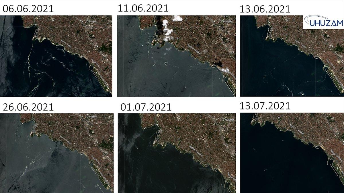 Marmara Denizi nin uzaydan çekilen görüntüleri #4