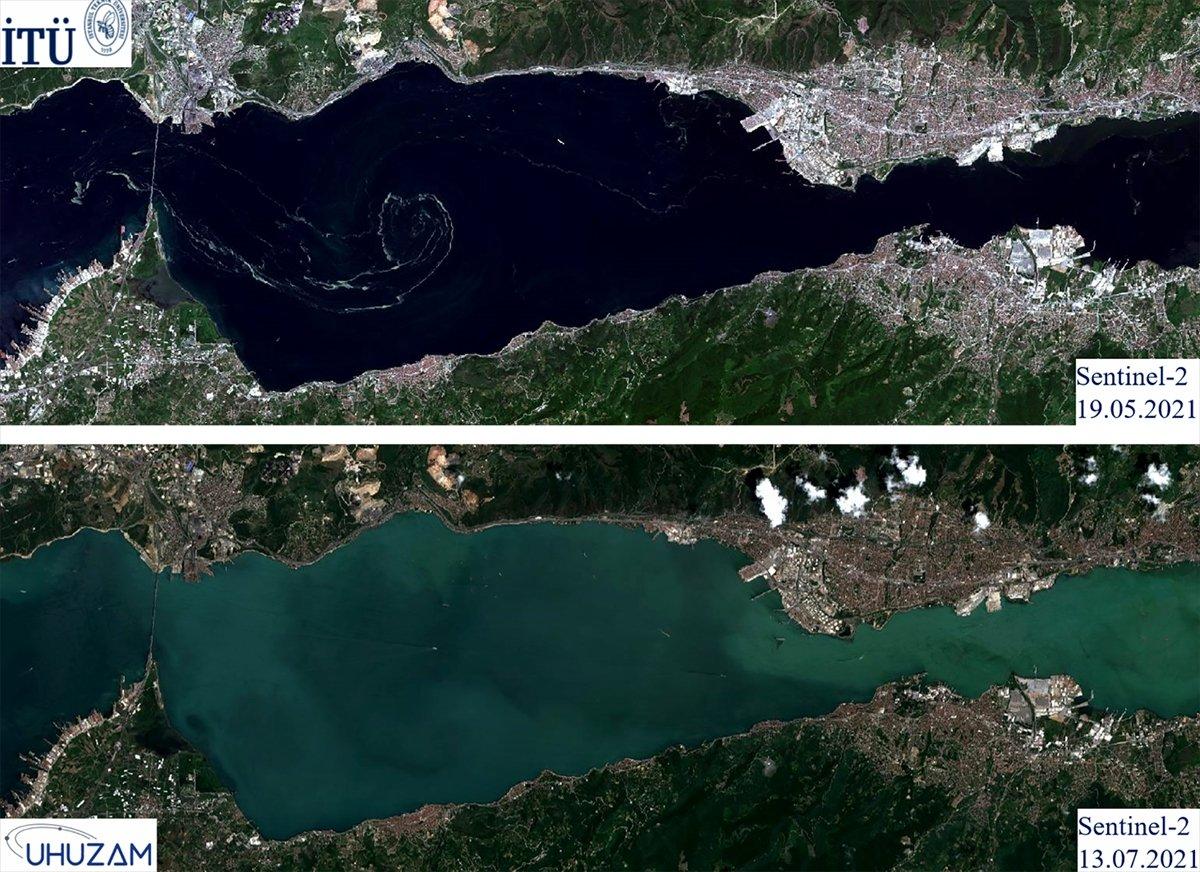 Marmara Denizi nin uzaydan çekilen görüntüleri #5
