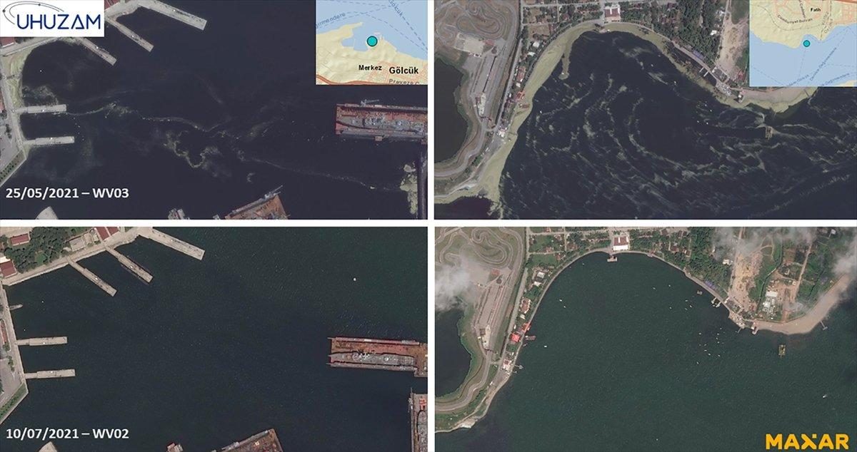 Marmara Denizi nin uzaydan çekilen görüntüleri #3