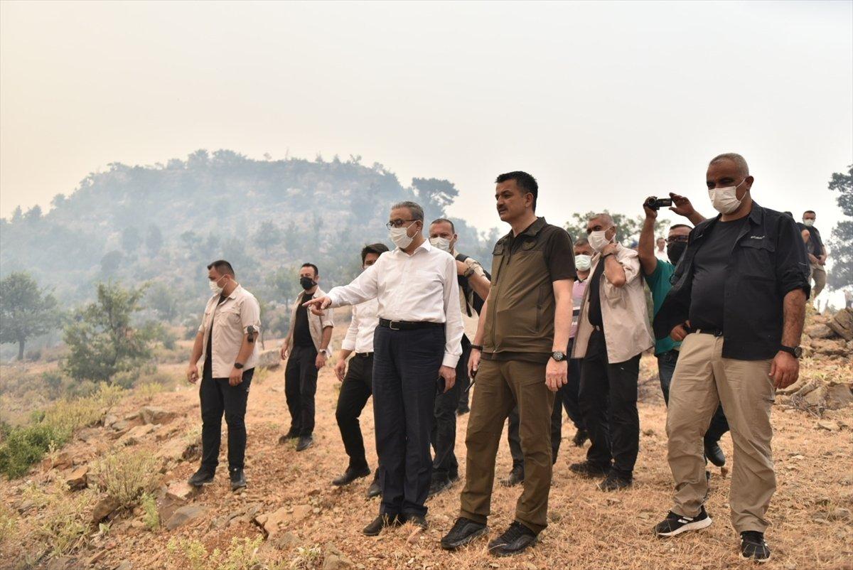 Mersin deki orman yangınıyla ilgili 4 şüpheli gözaltına alındı #6