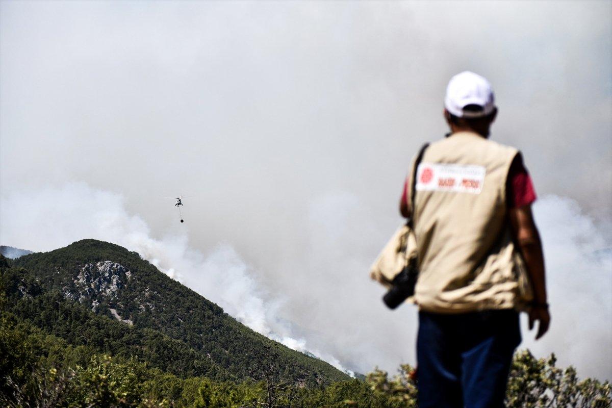 Mersin deki orman yangınıyla ilgili 4 şüpheli gözaltına alındı #1