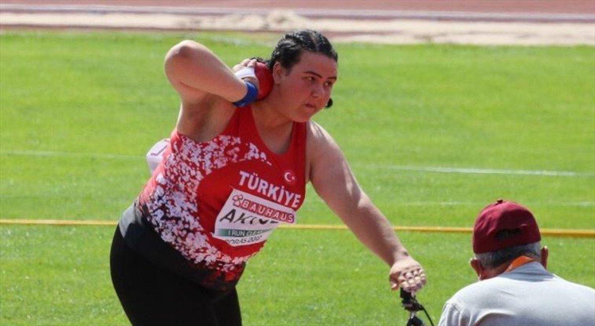 Milli atlet Pınar Akyol, gülle atmada Avrupa Şampiyonu #2