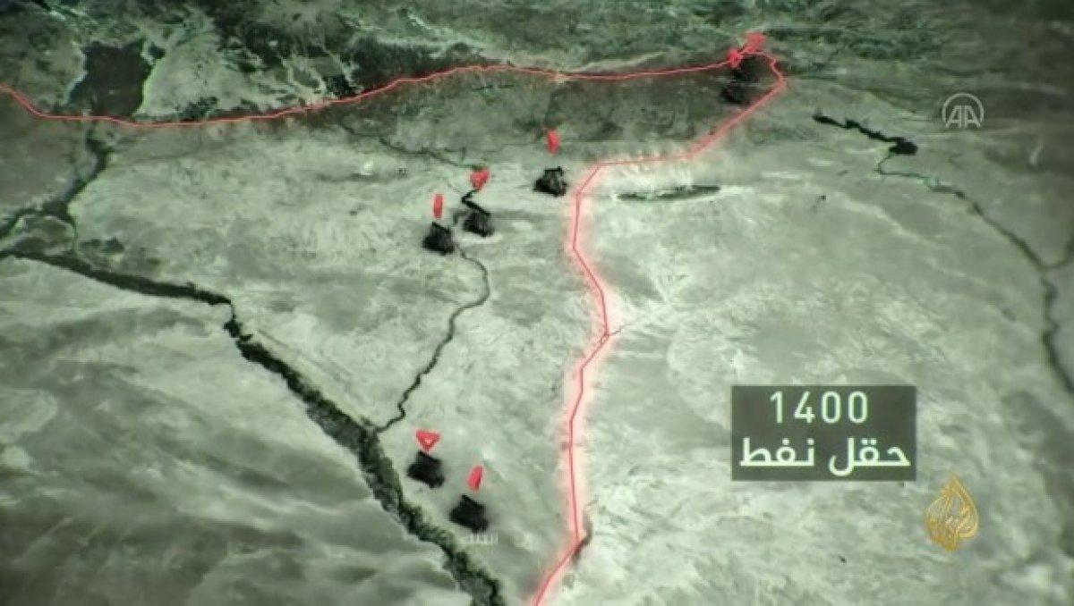 YPG nin Haseke de Türkiye sınırı hattında 113 kilometrelik tünelleri bulundu #8