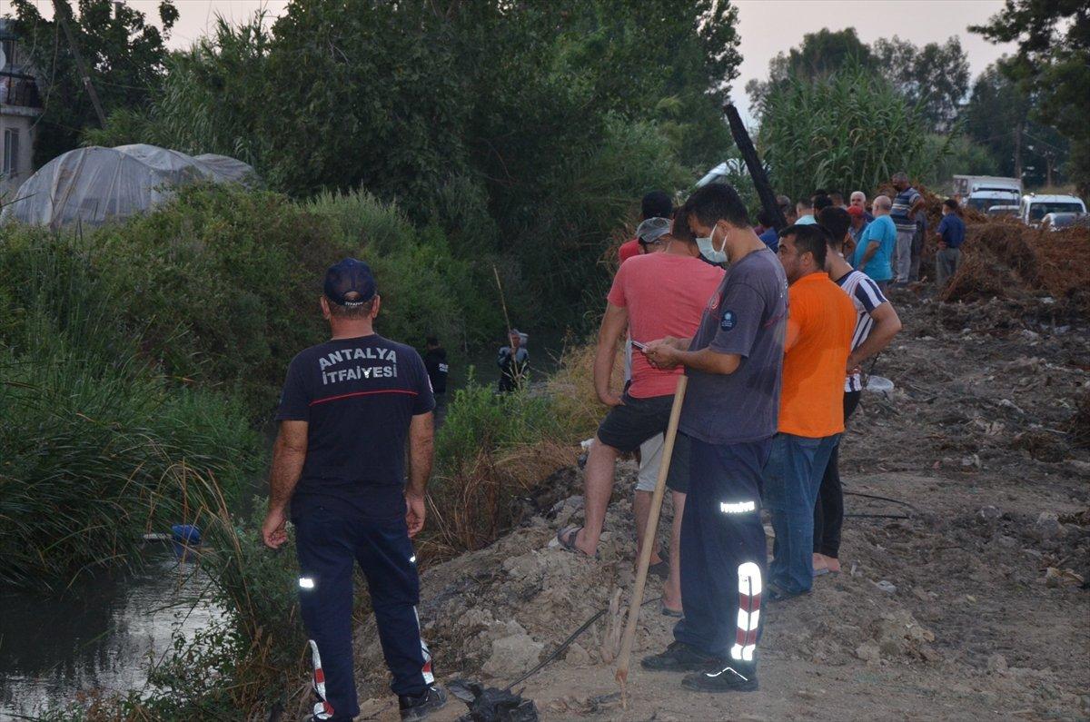 Antalya da kaybolan 2 yaşındaki kız için arama başlatıldı #3