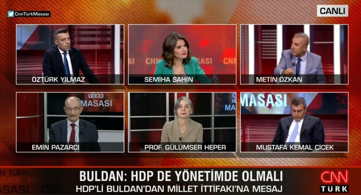 Metin Özkan: Millet İttifakı nın kazanma şansı yok #2