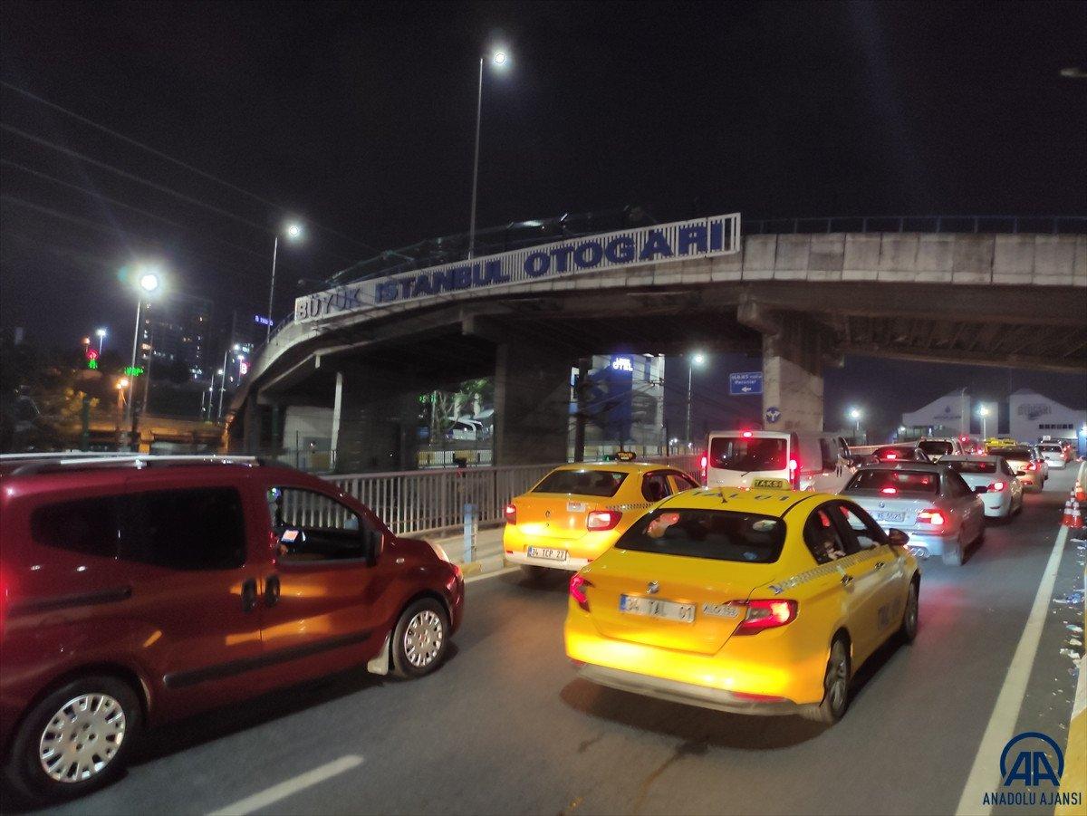 İstanbul otogarlarında bayram yoğunluğu #5