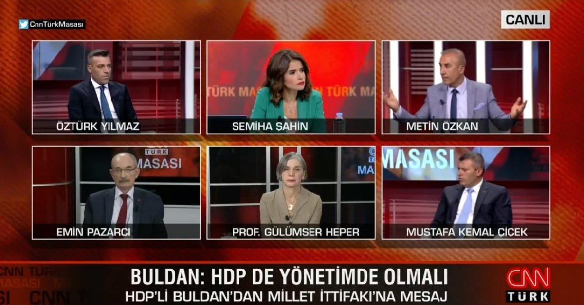 Metin Özkan: Millet İttifakı nın kazanma şansı yok #1