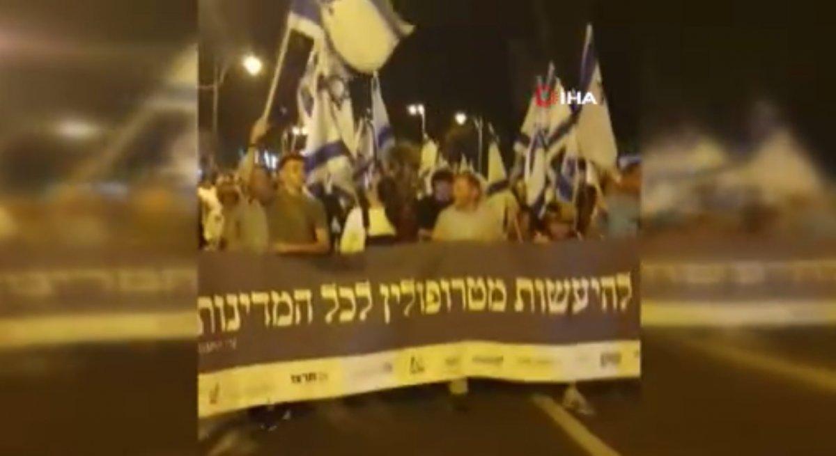 Doğu Kudüs'te fanatik Yahudiler yürüyüş düzenledi  #1