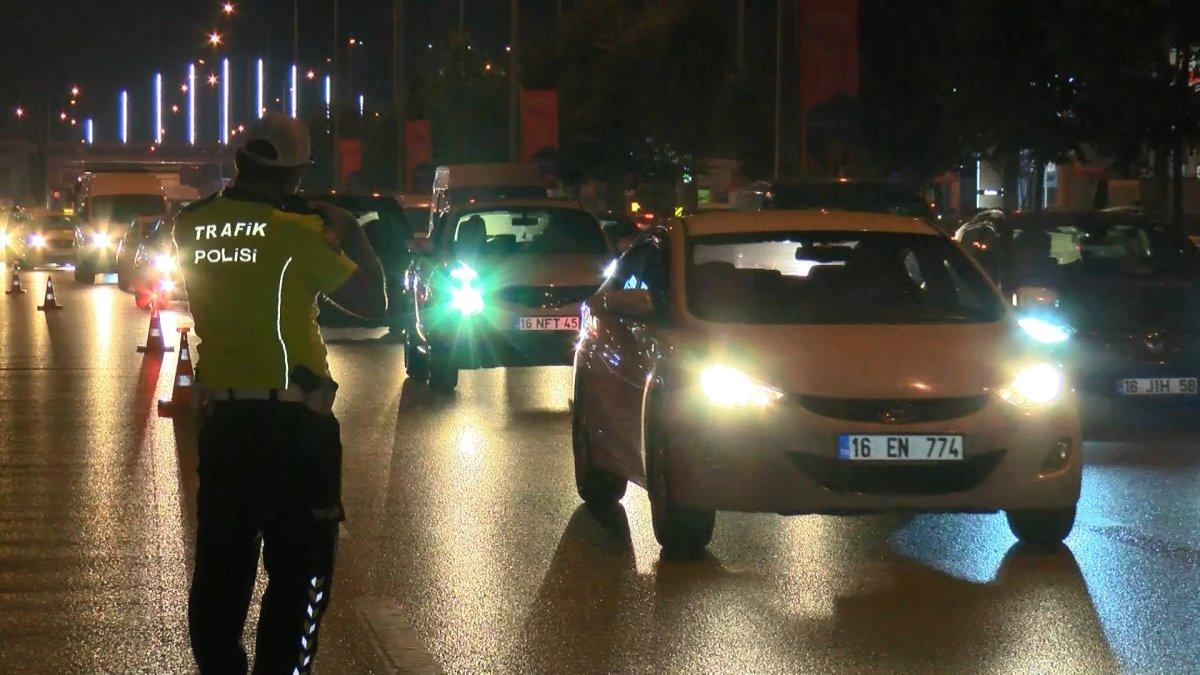 Bursa da bayram öncesi trafik denetimi #2