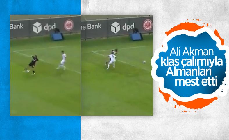 Ali Akman'dan klas çalım