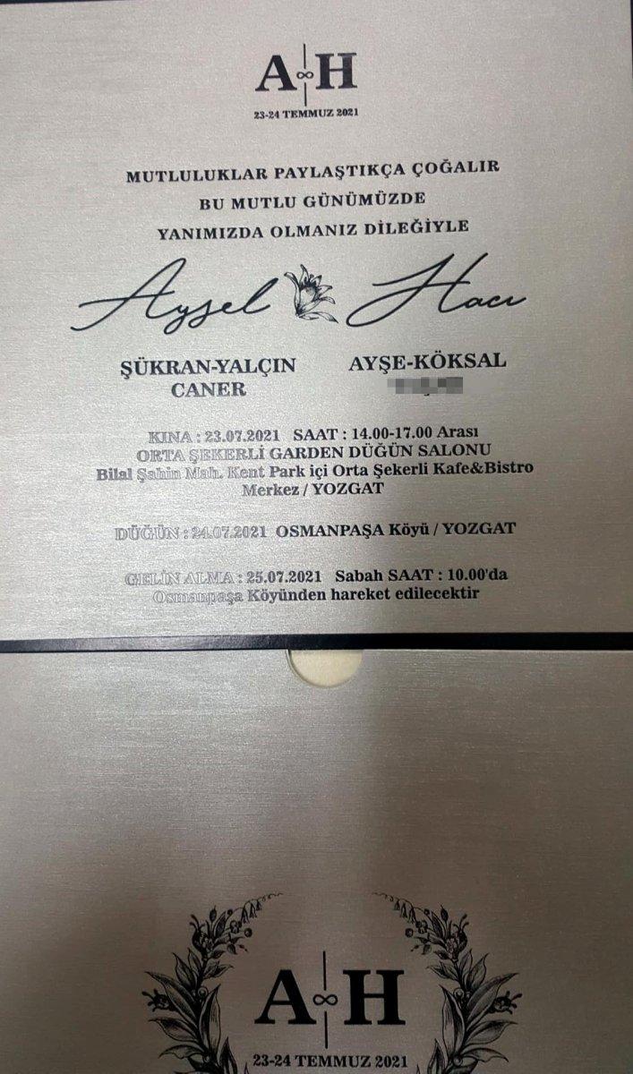 Yozgat ta düğününden 6 gün önce öldürüldü  #4