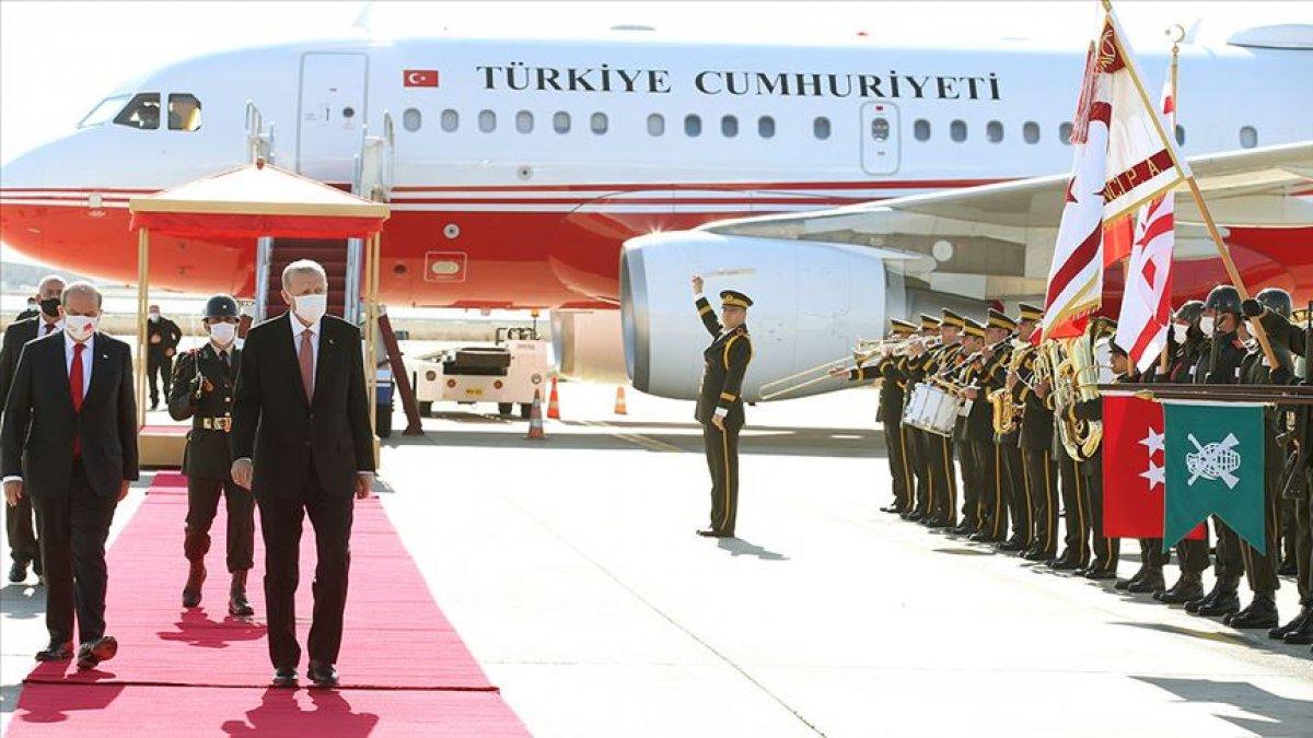 Yunan basını, Cumhurbaşkanı Erdoğan ın KKTC de vereceği müjdeye odaklandı #1