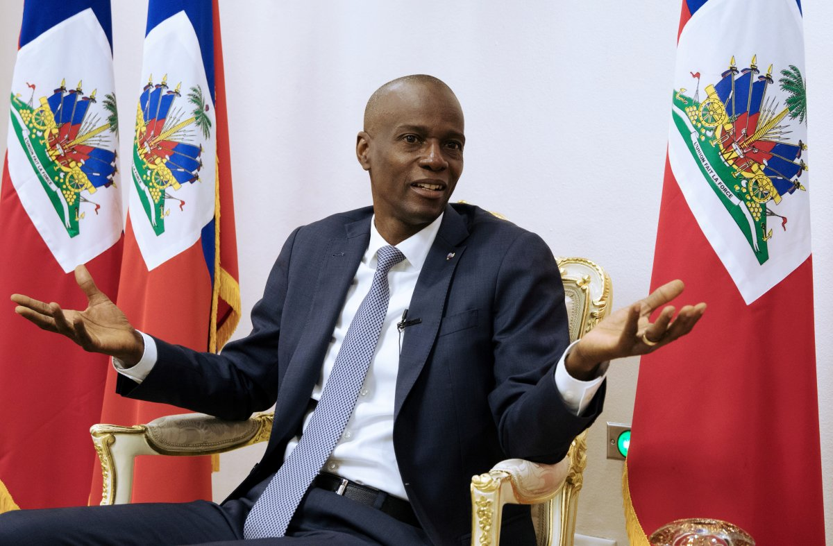 Martine Moise, suikast girişiminin ardından Haiti ye döndü #3