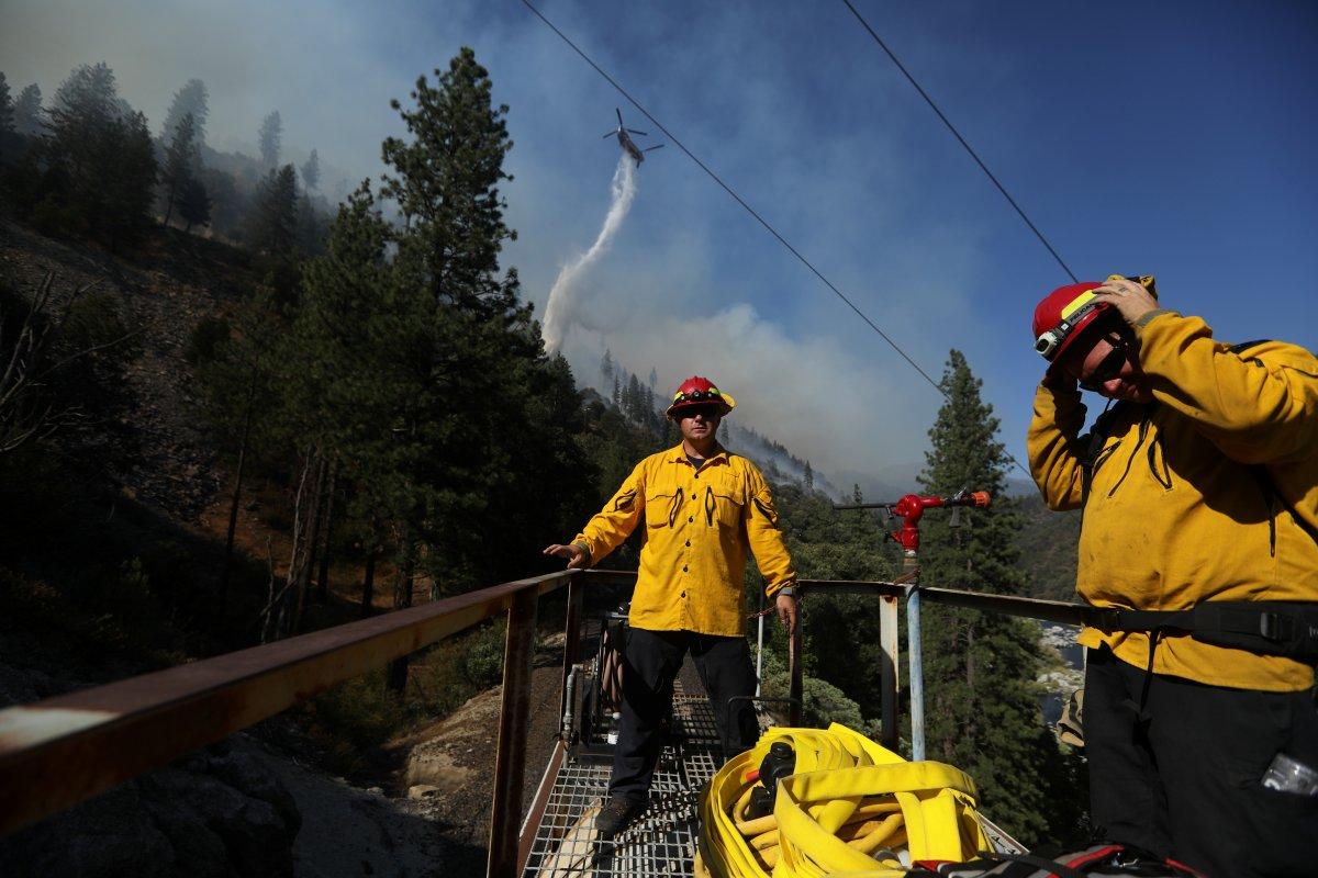 ABD nin Kaliforniya eyaletinde orman yangını #4