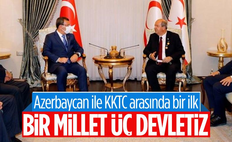 Azerbaycan Milli Meclisi'nden bir heyet ilk kez KKTC'de