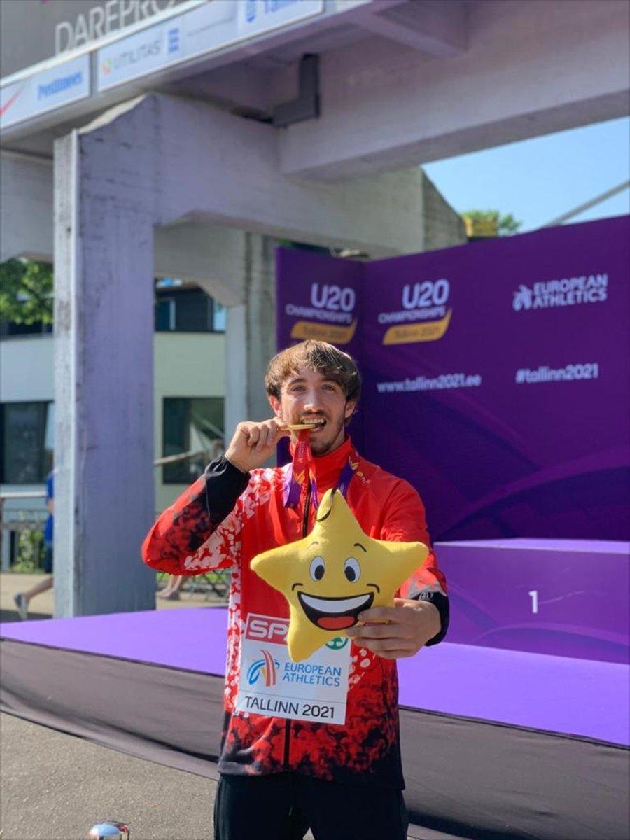 Milli atlet Berke Akçam, Avrupa şampiyonu oldu #2
