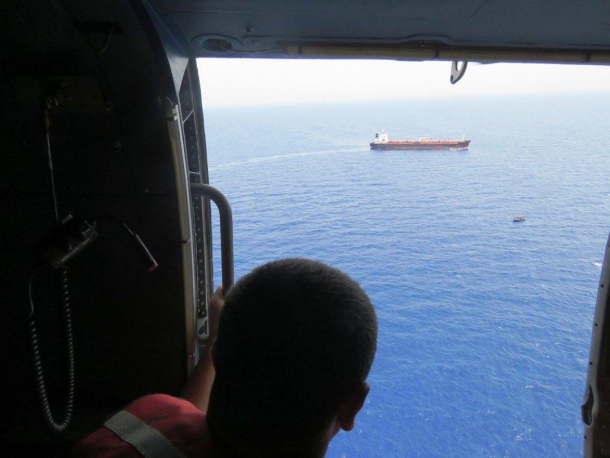 Tunus'a sürüklenen 80 düzensiz göçmen kurtarıldı  #1