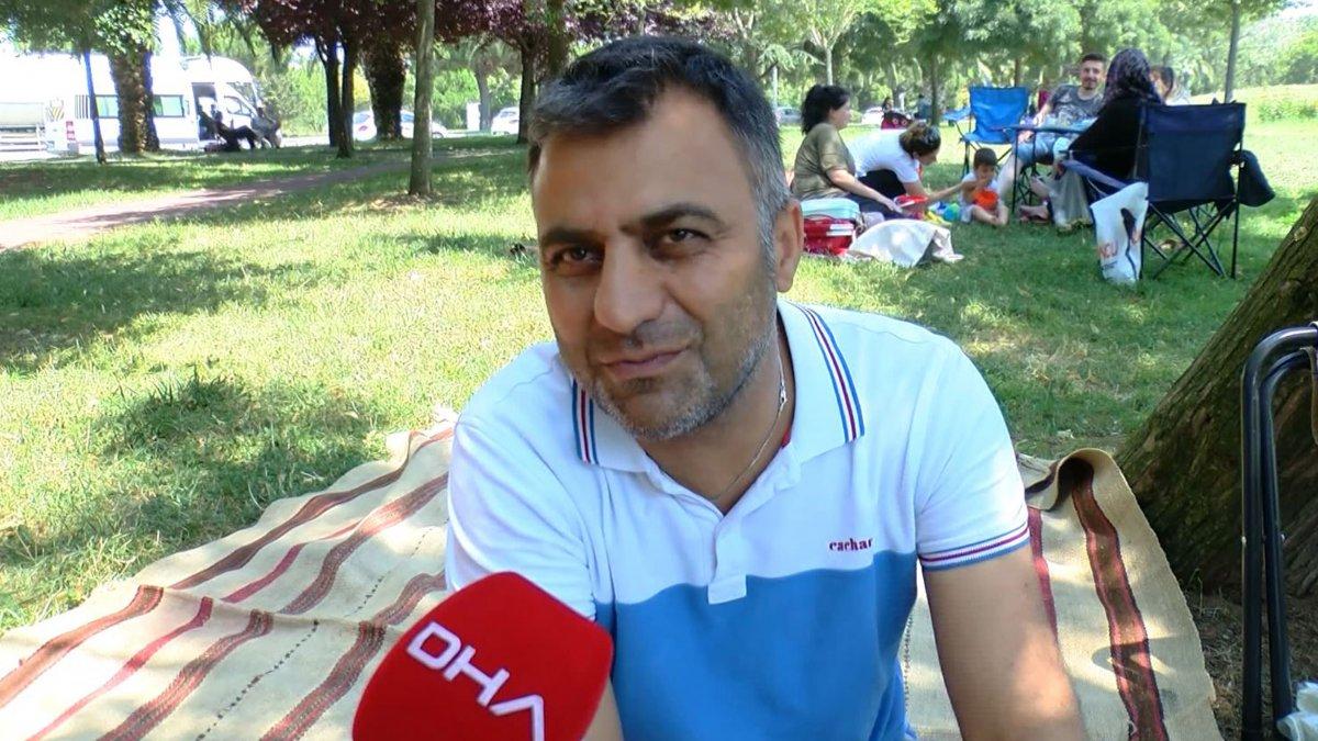 İstanbul'da hissedilen sıcaklık 42 dereceyi buldu #13