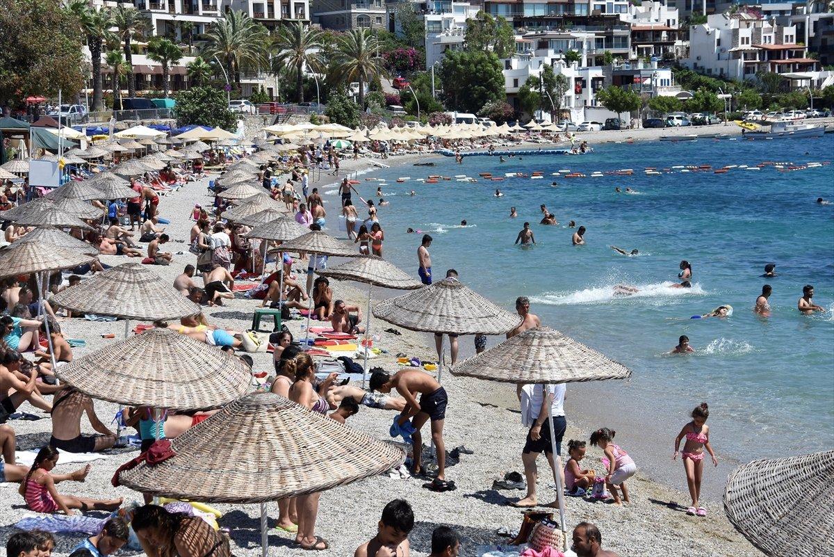 Antalya da oteller, bayram öncesinde doldu #5