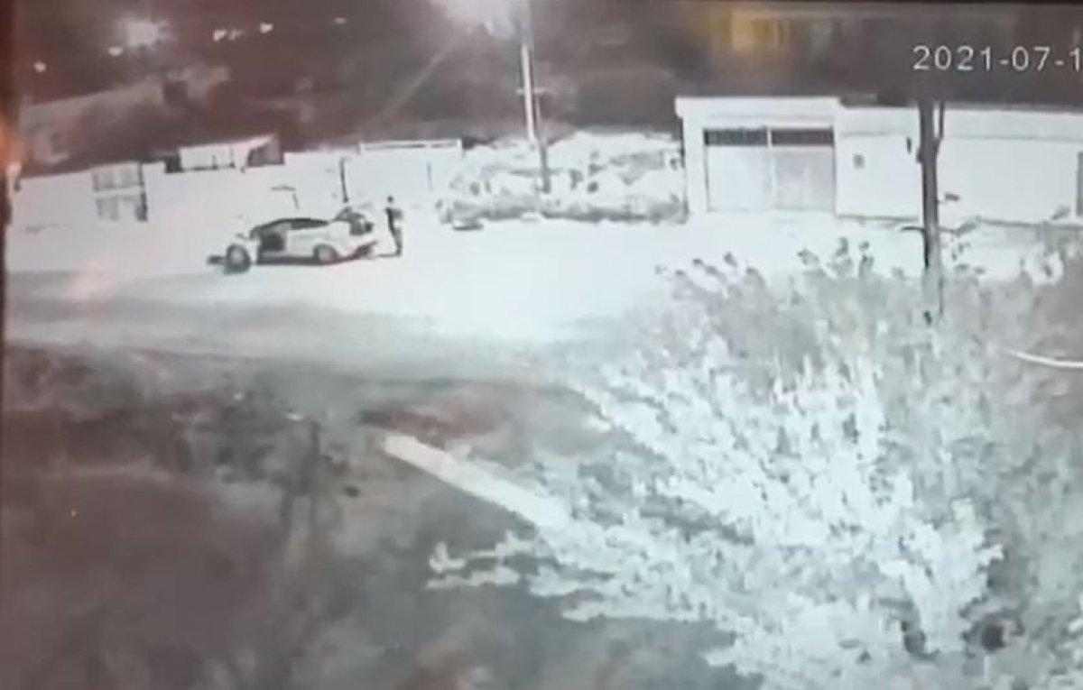 Gaziantep'te uyuşturucu alabilmek için el arabası çaldı  #1