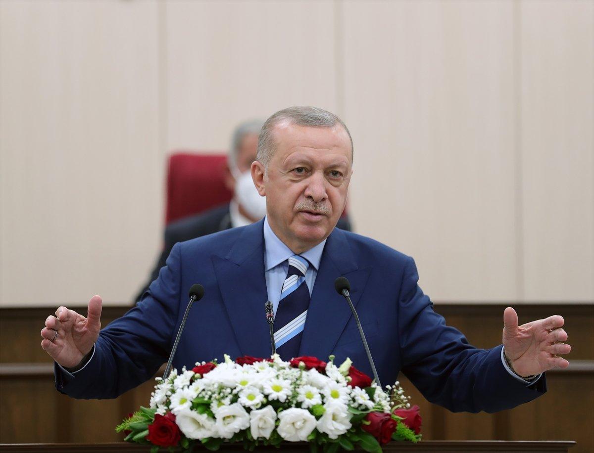Erdoğan ve Bahçeli, Alparslan Türkeş'in doğduğu evi ziyaret etti #1