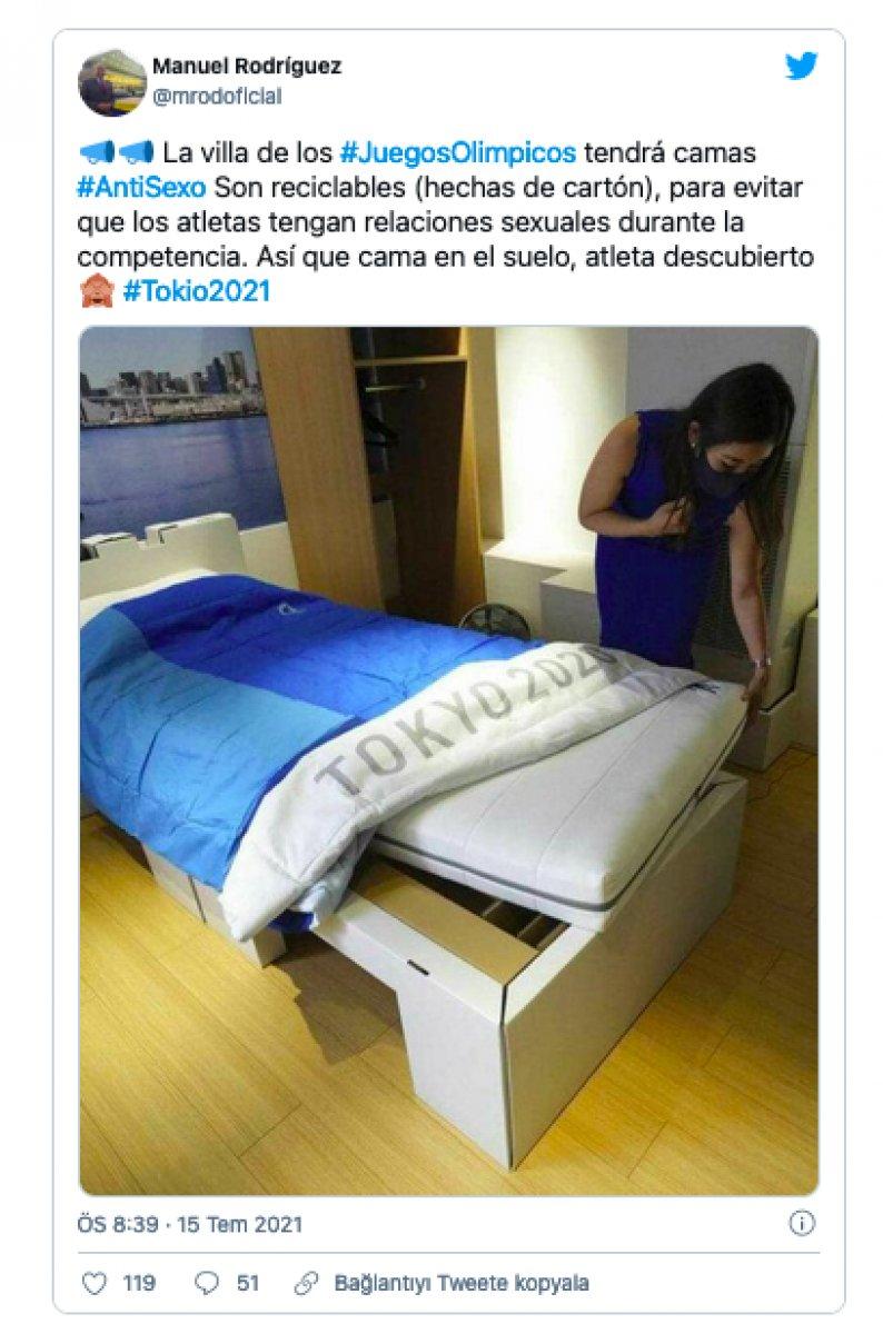Tokyo Olimpiyatları nda korona önlemi: Karton yatak #1