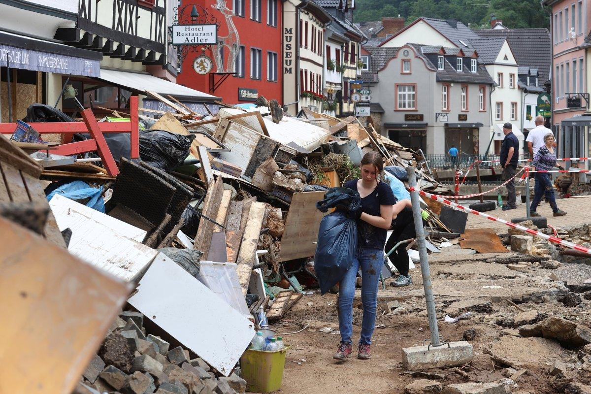 Almanya da yaşanan sellerde ölü sayısı artıyor #10
