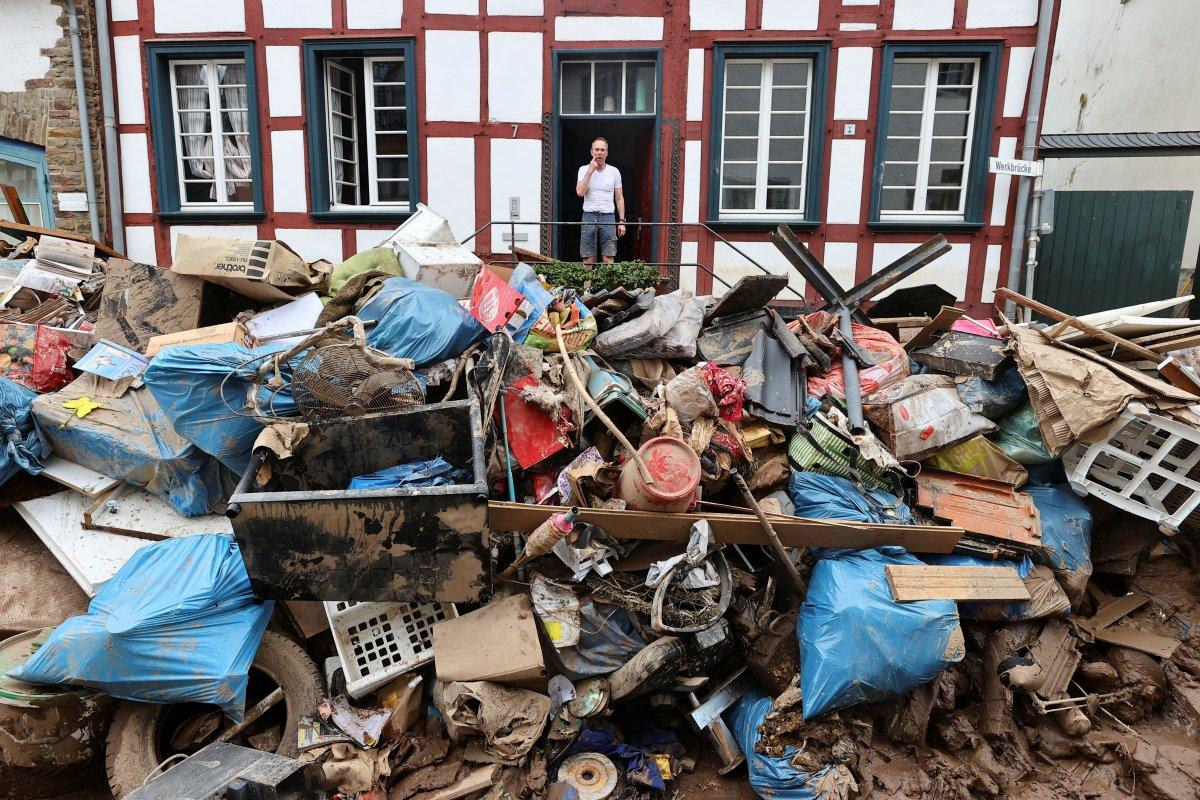 Almanya da yaşanan sellerde ölü sayısı artıyor #1