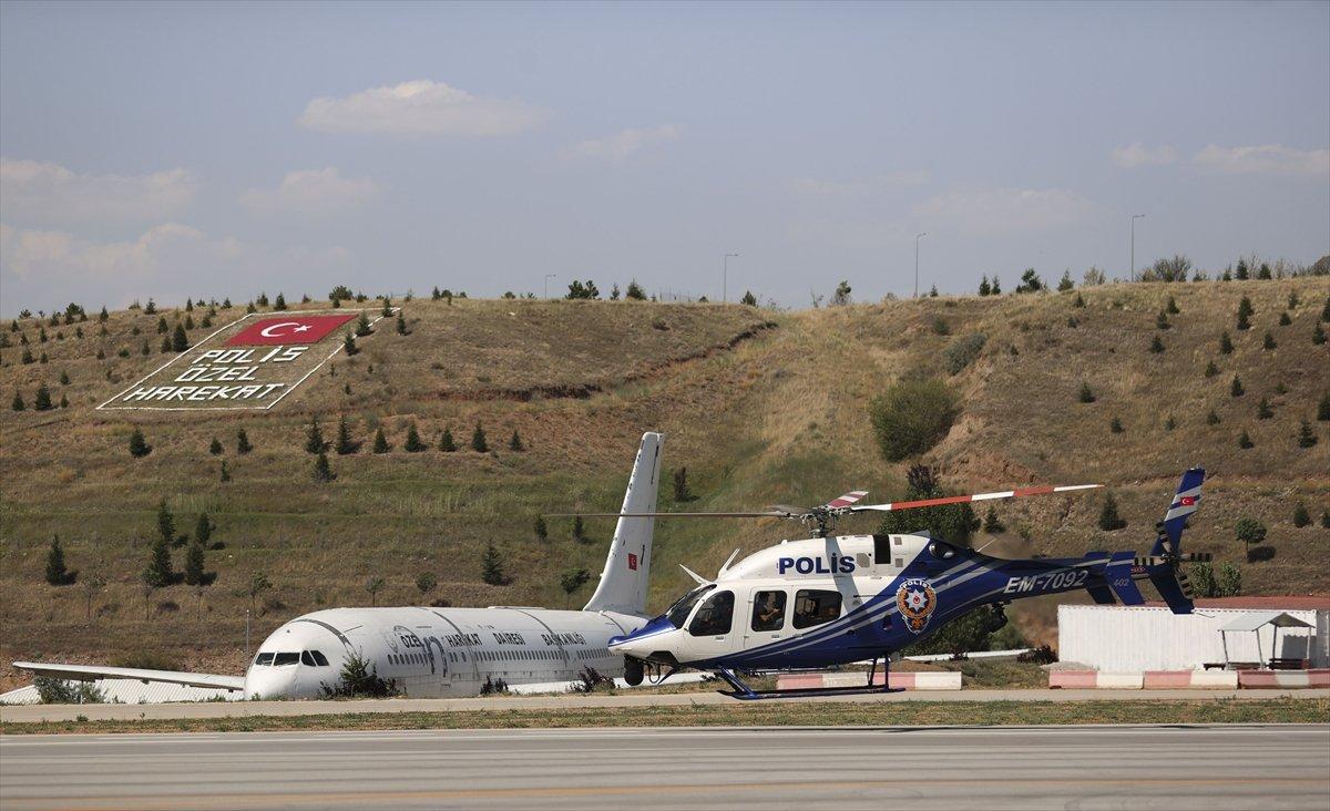 Ankara da helikopterle trafik denetimi #10