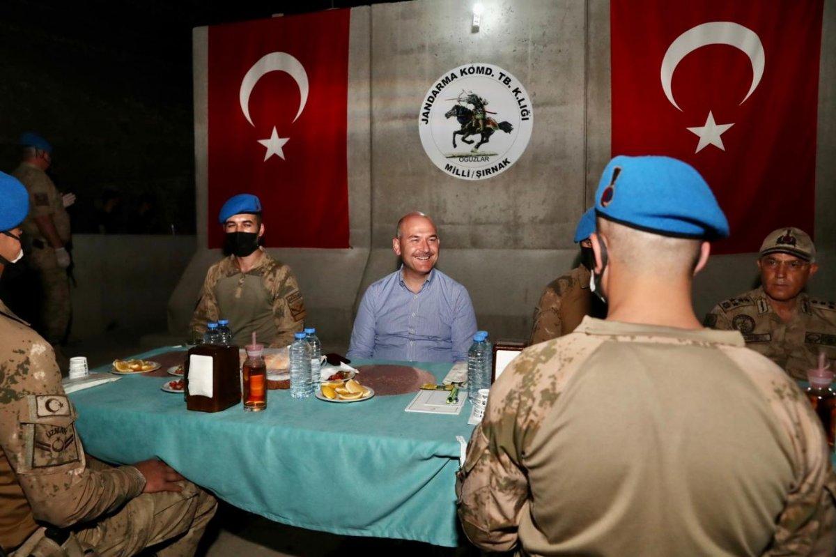Cumhurbaşkanı Erdoğan Cudi Dağı ndaki askerlerin bayramını kutladı #1