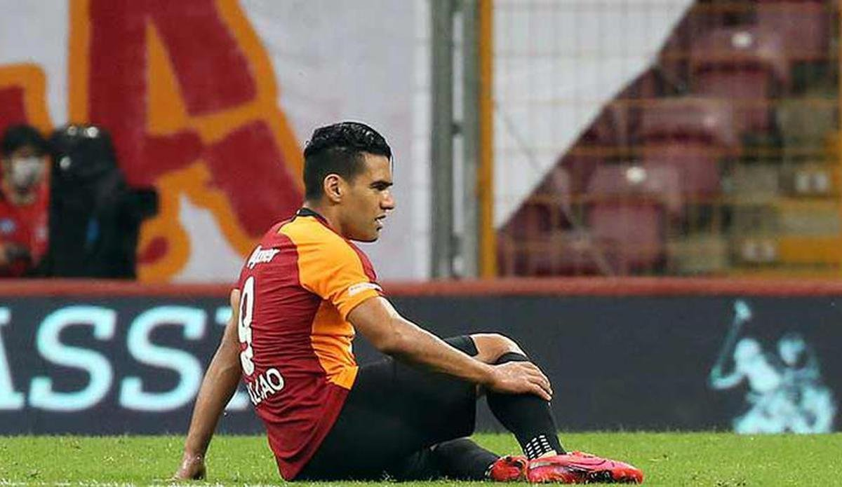 Galatasaray da Radamel Falcao sakatlandı #2