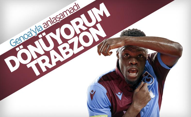 Trabzonspor'a Ekuban müjdesi