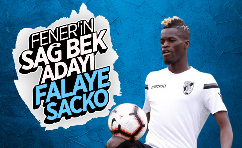 Fenerbahçe'de sağ bek hedefi: Falaye Sacko