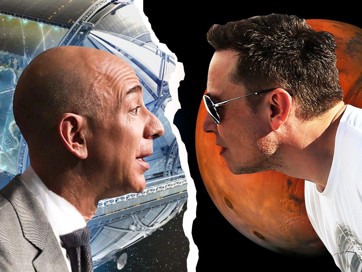 Milyarder iş insanlarının rekabeti uzaya taşındı #2