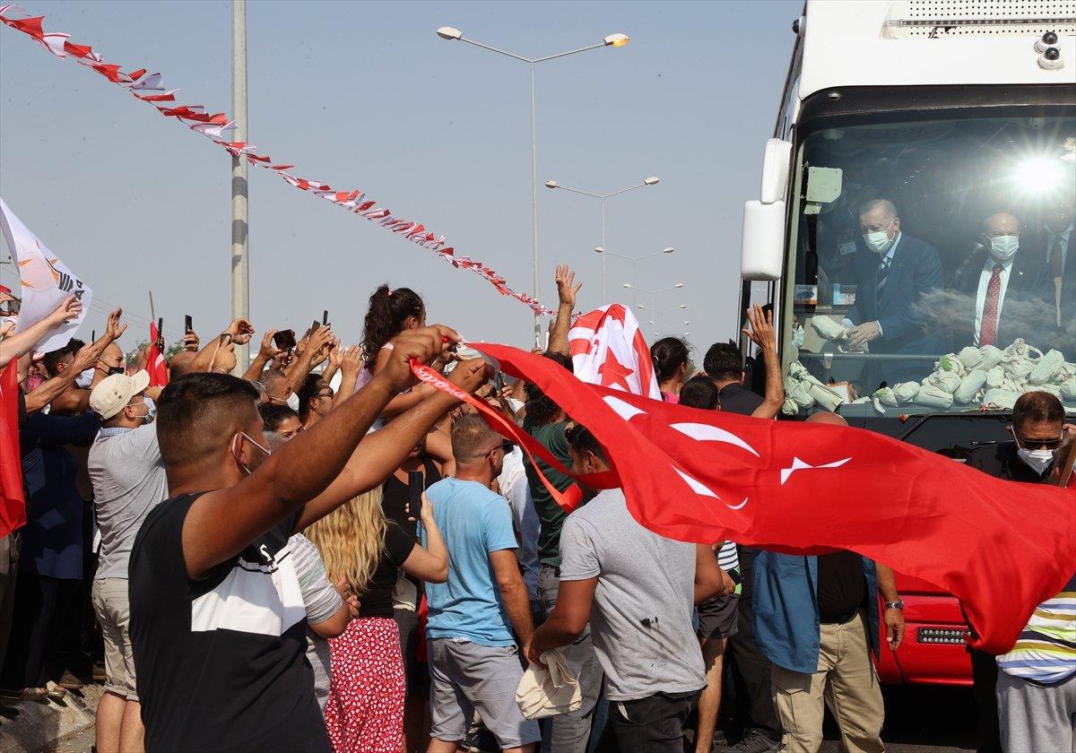 Cumhurbaşkanı Erdoğan, KKTC de müjdeyi verdi #3