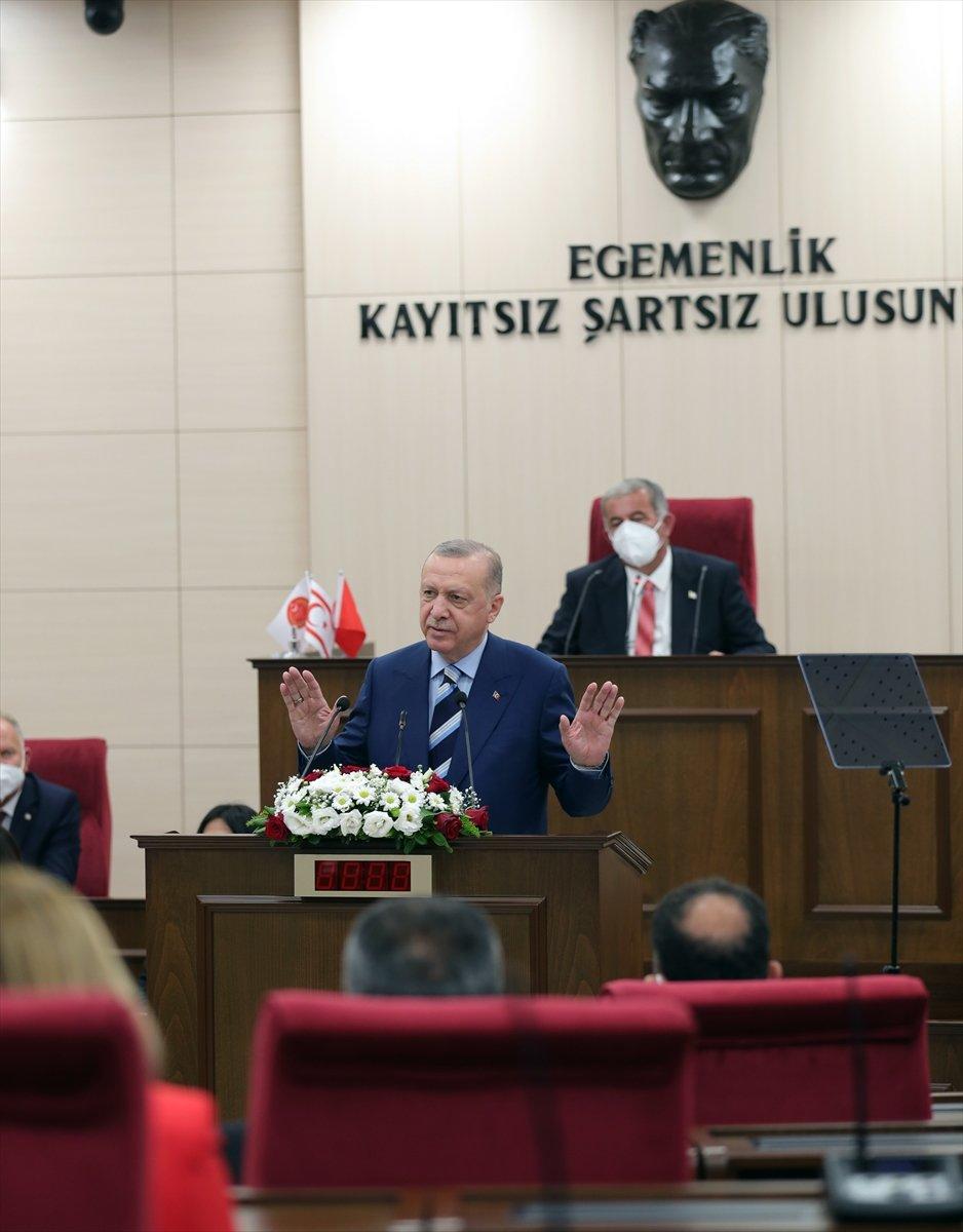 Cumhurbaşkanı Erdoğan ın KKTC Meclisi ndeki konuşması  #2
