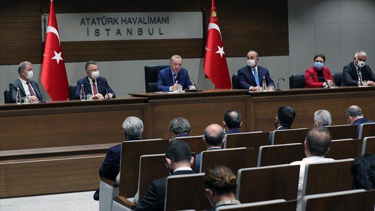 Cumhurbaşkanı Erdoğan ın, KKTC ye ziyareti öncesi açıklamaları #1
