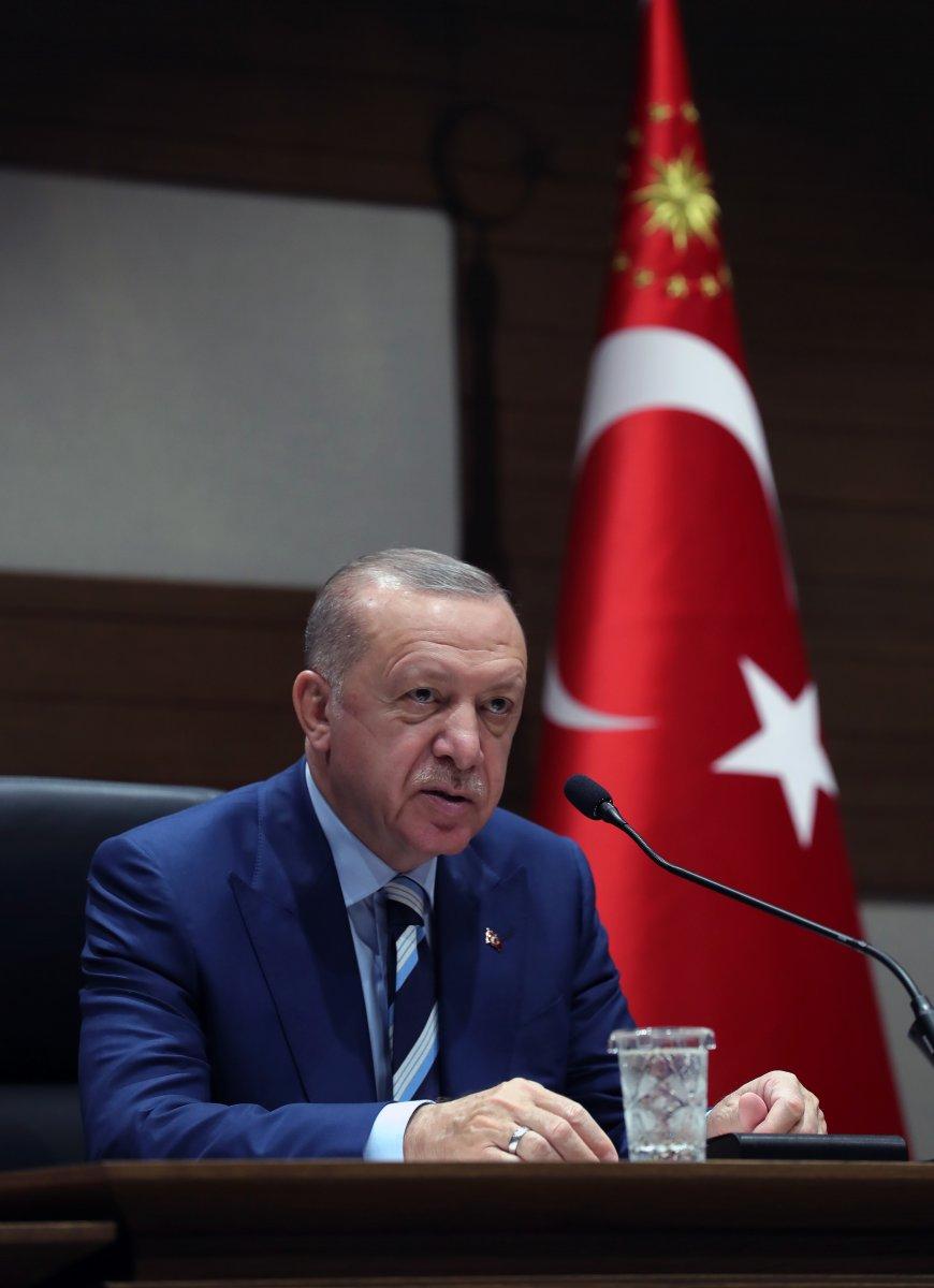 Cumhurbaşkanı Erdoğan ın, KKTC ye ziyareti öncesi açıklamaları #3