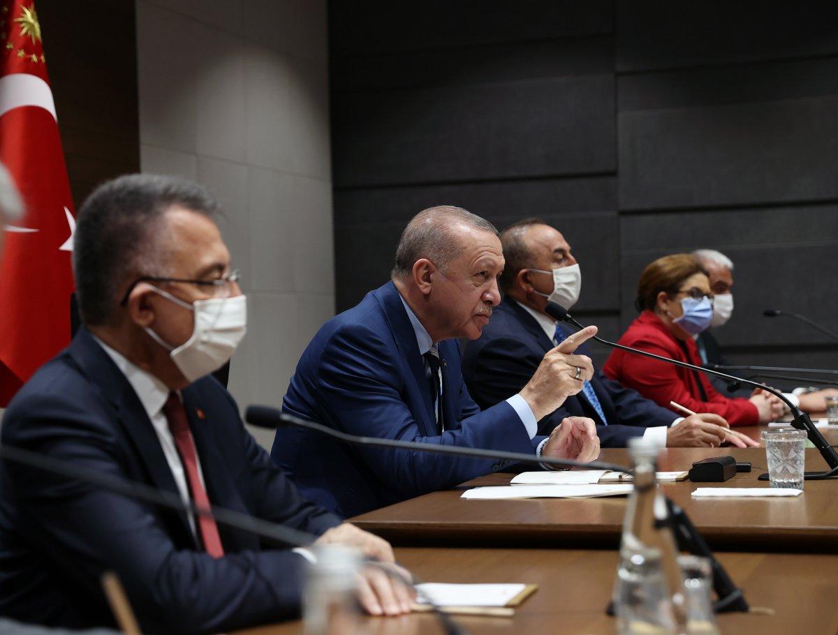 Cumhurbaşkanı Erdoğan ın, KKTC ye ziyareti öncesi açıklamaları #2