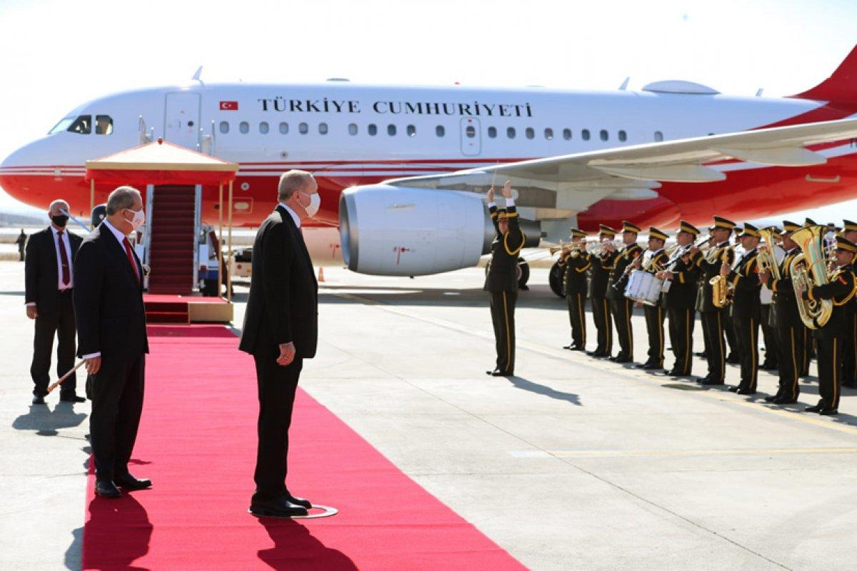 Cumhurbaşkanı Erdoğan, Kıbrıs a gidiyor #1