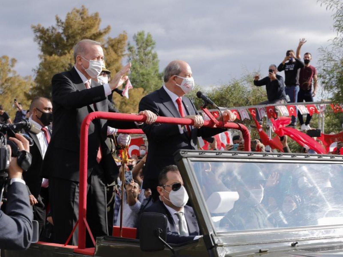Cumhurbaşkanı Erdoğan, Kıbrıs a gidiyor #2