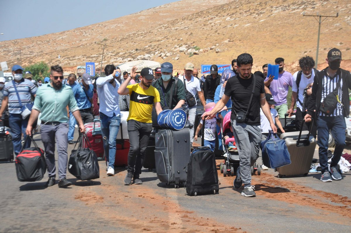 44 bin 220 Suriyeli bayram için ülkesine gitti  #7