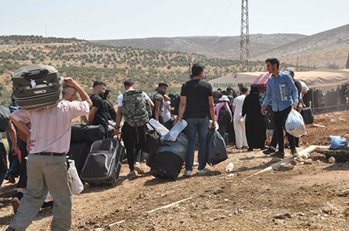 44 bin 220 Suriyeli bayram için ülkesine gitti  #5