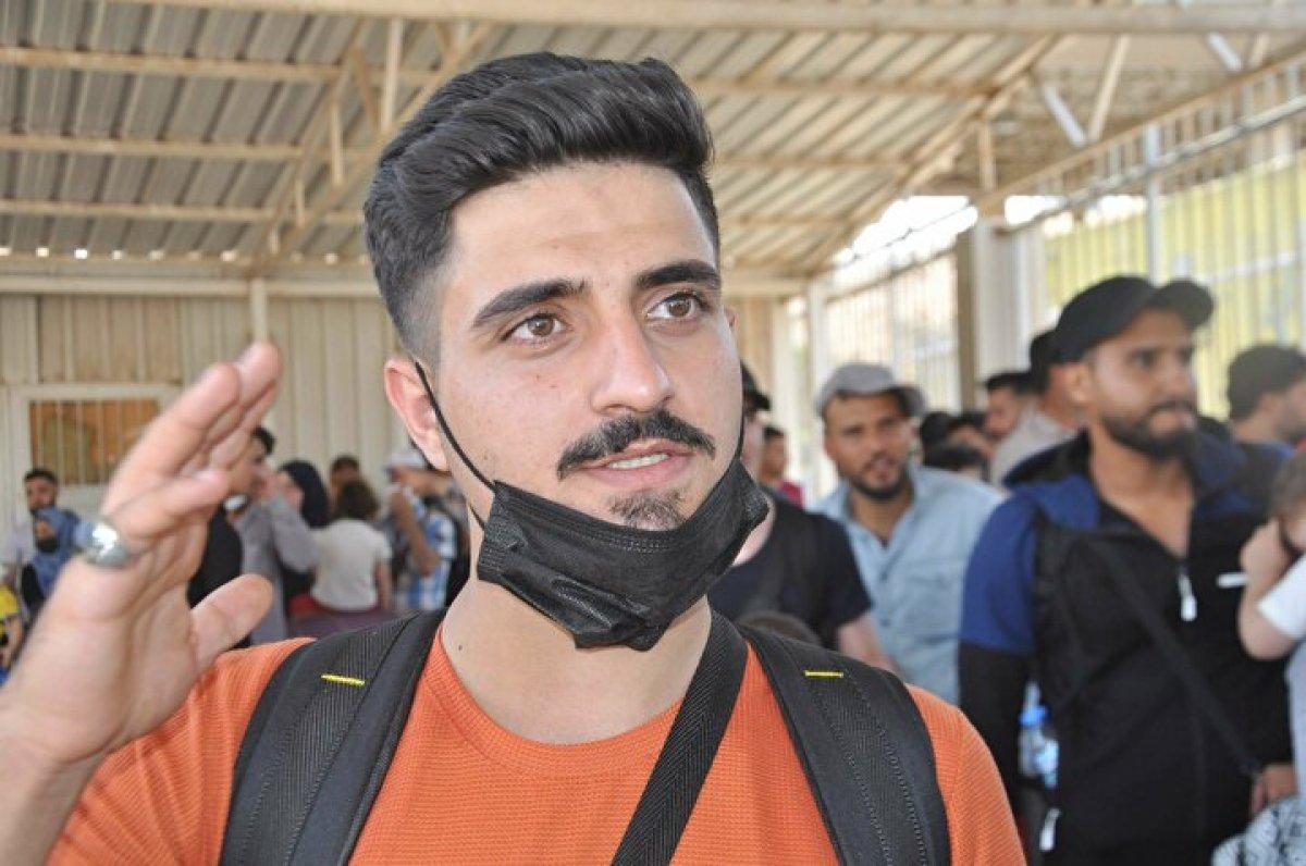 44 bin 220 Suriyeli bayram için ülkesine gitti  #2
