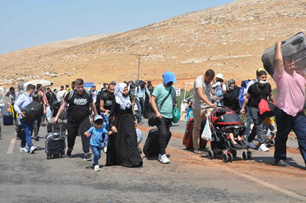 44 bin 220 Suriyeli bayram için ülkesine gitti  #6
