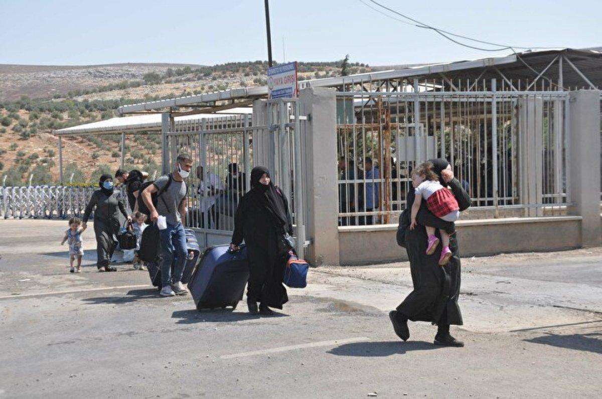 44 bin 220 Suriyeli bayram için ülkesine gitti  #4