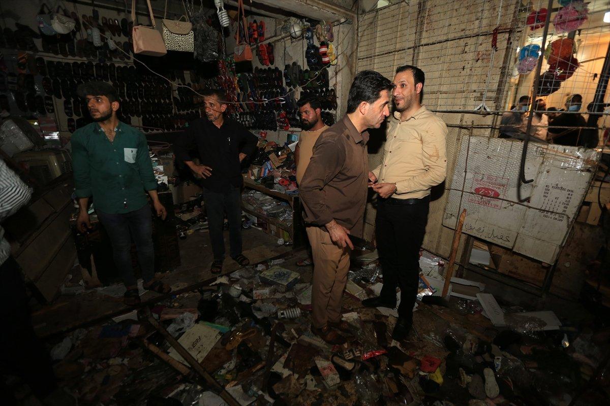 Irak ta halk pazarında patlama #6