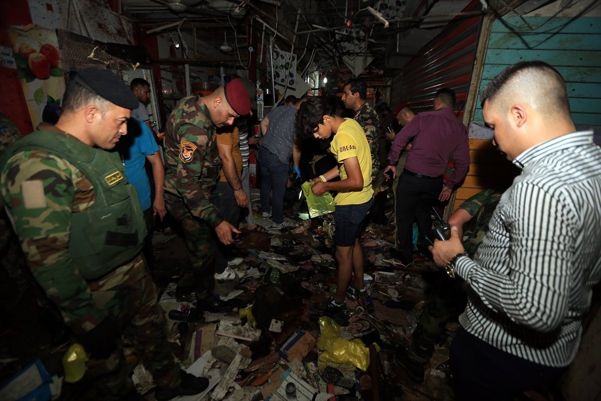 Irak ta halk pazarında patlama #3