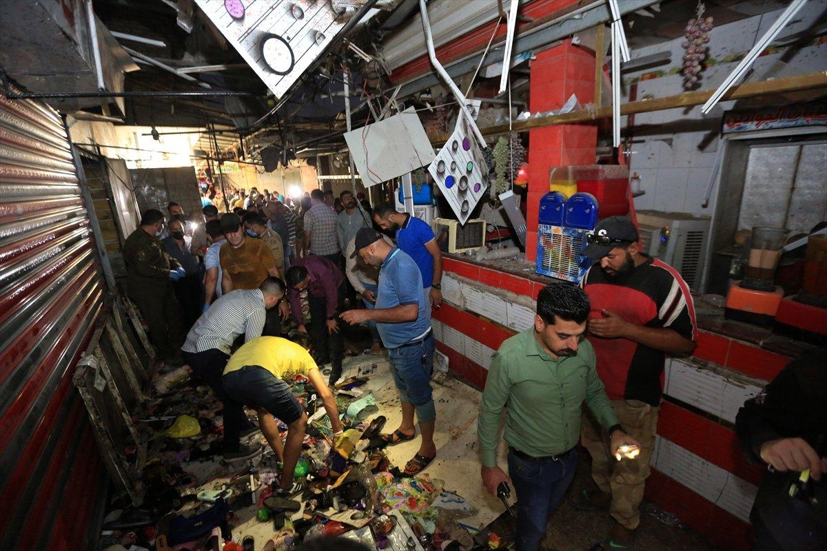 Irak ta halk pazarında patlama #4